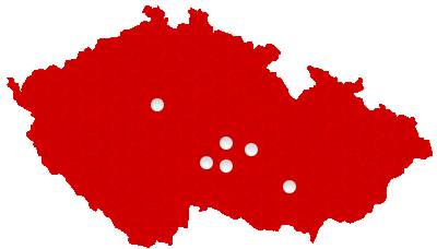 Mapa kde půjčujeme