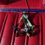 Fotografie 13. Nafukovací horolezecká stěna + skákadlo