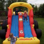Fotografie 10. Party velká skluzavka Formule 1