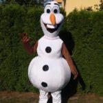 Fotografie 2. Pohádkový kostým Olaf – Ledové království / Frozen