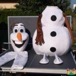Fotografie 7. Pohádkový kostým Olaf – Ledové království / Frozen