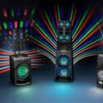 Fotografie 1. Párty reproduktor Sony MHC-V90DW + 2x bezdrátový mikrofon