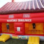 Fotografie 7. Hasičská zbrojnice + velká skluzavka Hasiči extra maxi XXL