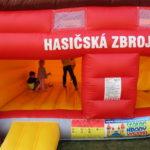 Fotografie 10. Hasičská zbrojnice + velká skluzavka Hasiči extra maxi XXL