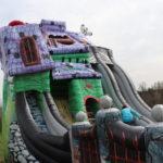 Fotografie 8. Velký skákací hrad se skluzavkou STRAŠIDELNÝ DŮM – extra maxi XXXL
