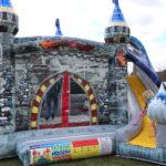 Fotografie 10. Nafukovací skákací hrad – modrý dračí hrad II