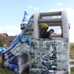 Fotografie 13. Nafukovací skákací hrad – modrý dračí hrad II