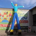Fotografie 1. Nafuk ovací tančící panák – kovboj