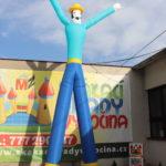 Fotografie 4. Nafuk ovací tančící panák – kovboj
