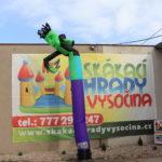 Fotografie 2. Nafukovací tančící panák – zelený tanečník