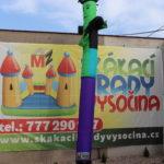 Fotografie 4. Nafukovací tančící panák – zelený tanečník