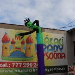 Fotografie 6. Nafukovací tančící panák – zelený tanečník