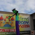 Fotografie 7. Nafukovací tančící panák – zelený tanečník