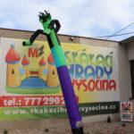 Fotografie 8. Nafukovací tančící panák – zelený tanečník