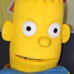 Fotografie 1. Pohádkový kostým Homer a Bart
