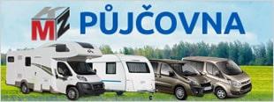 MKZ Půjčovna - obytné vozy, karavany, mikrobusy, vozíky, boxy a osobní doprava
