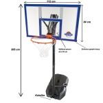 Fotografie 1. Basketbalový koš