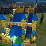 Fotografie 4. Nafukovací skákací nedobytný hrad (MAXI)