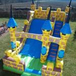 Fotografie 5. Nafukovací skákací nedobytný hrad (MAXI)