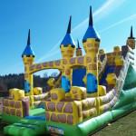 Fotografie 11. Nafukovací skákací nedobytný hrad (MAXI)