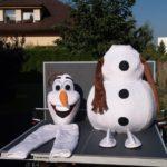 Fotografie 6. Pohádkový kostým Olaf – Ledové království / Frozen