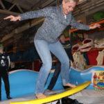 Fotografie 20. Zábavná atrakce snowbordové nebo surfové prkno