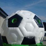 Fotografie 4. Nafukovací skákací hrad fotbalový míč