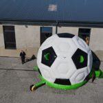 Fotografie 9. Nafukovací skákací hrad fotbalový míč