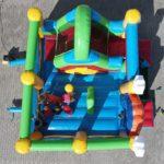 Fotografie 5. Nafukovací skákací hrad – VESELÝ KLAUN se skluzavkou