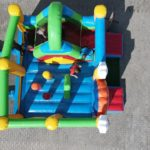 Fotografie 6. Nafukovací skákací hrad – VESELÝ KLAUN se skluzavkou